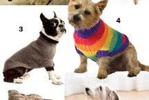 Knitted:  Pets