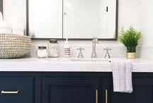 Bathroom Countertops / Bathroom countertop inspiration for your next home project.