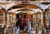 Libraries / I love wandering through libraries. So many possibilities!