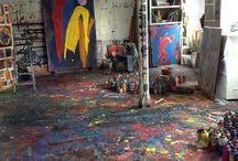 Artists studios