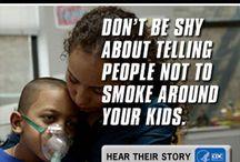 tupakan vastainen mainos
