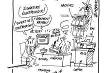 Digital et Dessin / Les dessins qui traitent du Digital