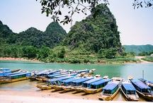 Parque nacional Phong Nha-Ke Bang / El parque nacional de Phong Nha-Ke Bang, el mayor parque del centro de Vietnam.