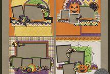 Käsintehdyt kortit - Halloween.