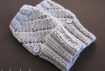 guanti, berretti di lana ....