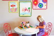 INSPO: Playrooms / This board is all about kids' playroom ideas. From toy organization to how to best display kids' artwork, these ideas will help you craft a cool space where creativity can flourish.