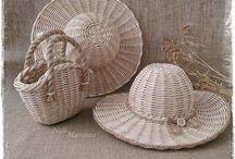 шляпа плетение