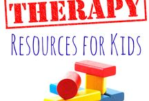 To My Works / Therapy setting and activities ideas