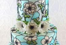 květy dorty