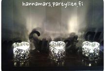 PartyLite by me / Kodin sisustusta ja ihania kynttilöitä ♡