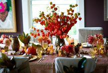 Sala dekoracje - jesień