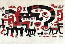 Jim Flora Illustrator / Another favourite illustrator of mine. Jim Flora
