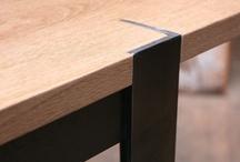 meubles metal et bois