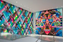 Street Art Interior Inspiration / Innovative interiors, that incorporate mural or large format prints on their wall coverings