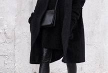 """beautiful black /  """"When I find a colour darker than black, I'll wear it. But until then, I'm wearing black!"""" Coco Chanel"""