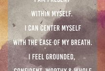 So I meditate