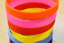 Diabetes.co.uk Wristbands