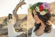 Head and Hair Adornments / Veils, floral headdress, clips, pins, and more