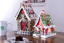 Gingerbread houses / by Cindy Schneider