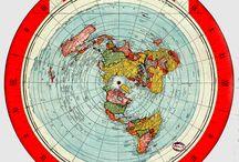 True Earth maps