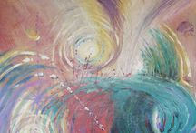 Release Paintings / What does it feel like to release emotions that are holding you back from being who you really are? http://www.catherinefoster.com/#!healing-artwork-of-catherine-foster/c1ncl