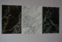 Painted Marble / Painted faux marble by me