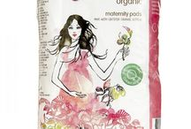 TOM Organic / TOM Organic offers a range of certified organic tampons, pads, and liners.