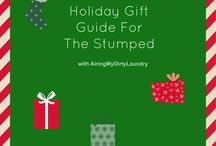 Holiday Gift Ideas / Different Holiday gift ideas for the people in your lives.