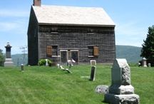Quakers houses and old churches