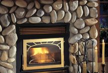 Napoleon NZ26 Wood Fireplace / Exceptional Heat Performance.  A masonry fireplace that outperforms your expectations and has several facing options to fit your design needs. / by Fireplace Warehouse ETC
