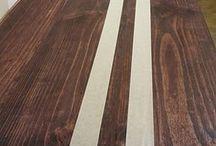 mesada de madera