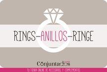 ANILLOS - RINGS - RINGE / En Conjuntados.com podrás comprar los anillos más bonitos del mundo. ¡Compruébalo!