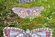 Бабочки дорожка