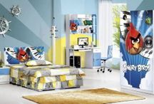 Kid's room themed Angry Birds / Kid's room themed Angry Birds http://rielhome.com/kids-room-themed-angry-birds/