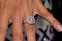 Celebrity Engagement Rings / Bring on the bling!