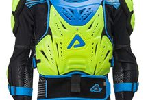 Acerbis Motocross Body Protection - Acerbis, Soul & Passion! / 35 Years of experience with the best off- Road racers in the world has enriched Acerbis' constant technical development. The protection range includes; Acerbis Race Collar, Acerbis Cosmo Body Armour,  Acerbis Knee Guards, Acerbis Elbow Guards, Acerbis Shorts, Acerbis Kidney Belt, Acerbis Knee Brace and many more...