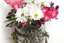 Flower Arrangements / by Pamela Kopp