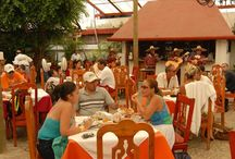 """La Mission Cozumel / Since 1982; LA MISSION has been known for its fresh seafood and its excellent Mexican cuisine, the hospitality, the quality of its employees, and for the slogan """"SI NO TE GUSTA, NO PAGAS"""" (If you don't like it, you don't pay)."""