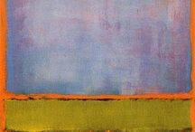 Art I love - Mark Rothko / Abstract Expressionist: 1903-1970 Mark Rothko, born  was an American painter of Russian Jewish descent. Although Rothko himself refused to adhere to any art movement, he is generally identified as an Abstract Expressionist. (Wikipedia)