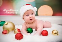 Baby Christmas pics.  / by Callie Graff