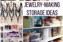 Bead and Jewelry Storage Ideas