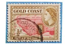 Personal STAMPS Collection GOLDEN COAST