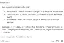 tumblr talks about murderers