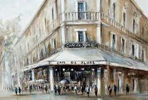 artiste peintre Richard POUMELIN