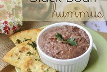 Black beans humus