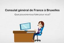 Le Consulat général de France à Bruxelles