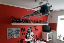 """Star Wars -Kinderzimmer / Kinderzimmer mit dem Thema """"Star Wars"""""""