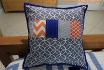 Simply Striped Accent Pillows / by Sue Zlogar