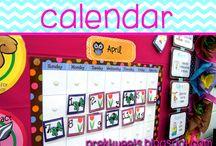 Calendar / Calendar resources and morning board ideas.