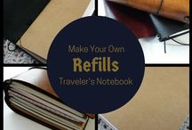 Travelers Notebook inspo and ideas